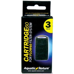 CARTUCHOS FLOW 60 3 UNIDADES AQUATIC NATURE