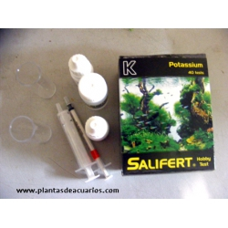 Salifert test Potasio (k)+ Sulf potásico. AGUA DULCE