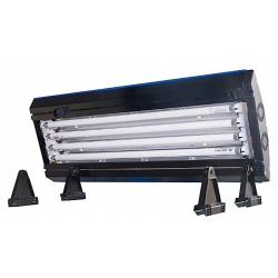 Pantalla Ocean Light T5 4x39w + leds con tubos incluidos