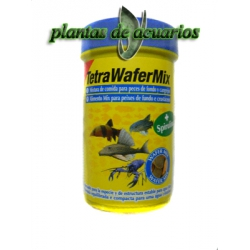 TETRA WAFERMIX 100ML TABLETA PEZ FONDO-CANGREJO
