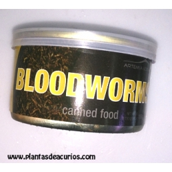 Canned food larvas mosquito
