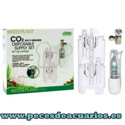 WATERPLANT Kit CO2 cartucho 16g