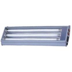 Pantalla 3x14w Plata 60cm T5 Lamp