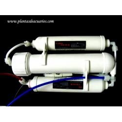 Depuradora Agua 3 etapas Osmosis Inversa 50Gpd Filmtec