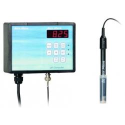 Ph Computer con electrodo y liquidos de calibracion